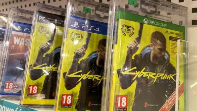 """Photo of """"Cyberpunk 2077"""" tops PS4 downloads after Sony store return"""